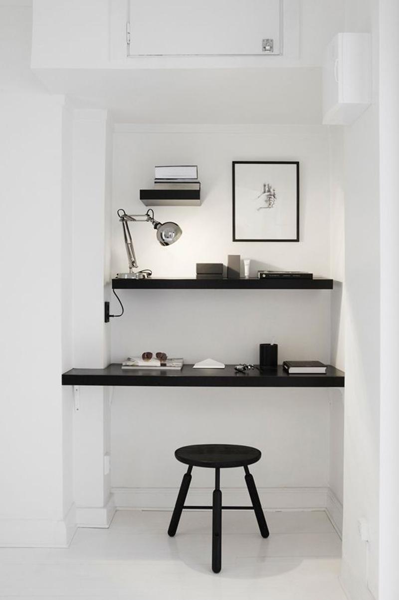 Célèbre Aménager son espace bureau dans le salon | Vos Plans Sur La Comète  YM17