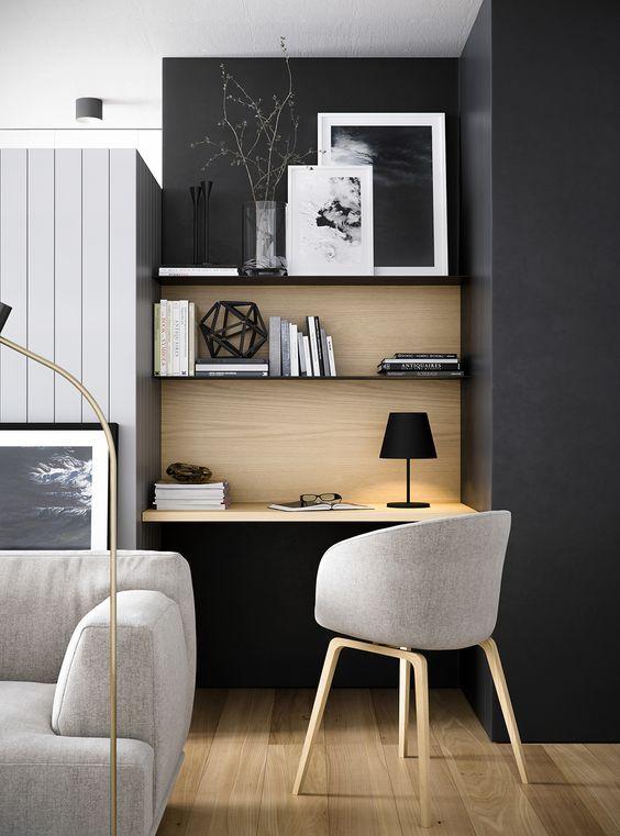 Amenager Son Espace Bureau Dans Le Salon Vos Plans Sur La Comete
